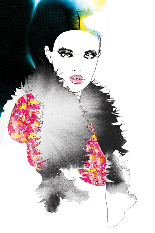 illustration-model-chanel